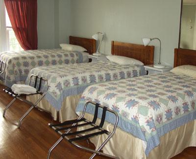 Edwards House bedroom