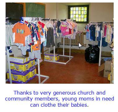 Holyoke Church helps teen moms