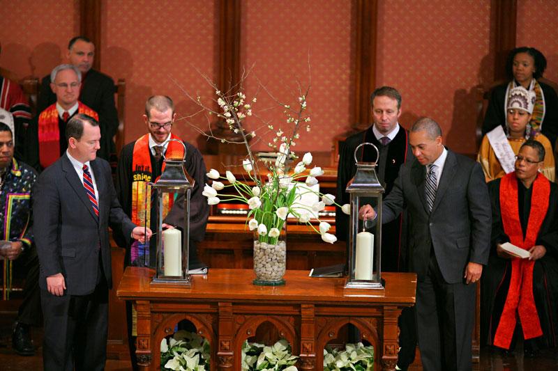 Inaugural Interfaith Service
