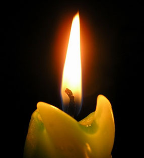 Candle flame