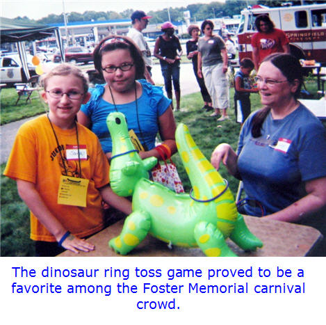 Foster Memorial in Springfield Holds a Carnival for Tornado Relief