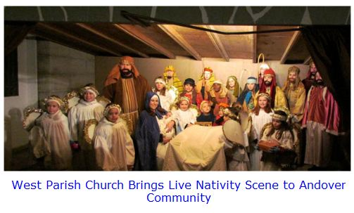 West Parish Andover Nativity