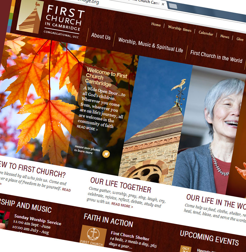 First Church in Cambridge website