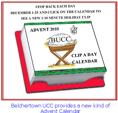 Belchertown UCC Advente Calendar
