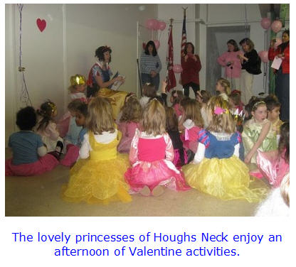 Houghs Neck Princess Tea