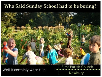 Newbury Sunday School and the Environment