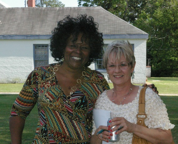 Vivian Lukas, Director and Diana Allen, Office Manager, Franklinton Center