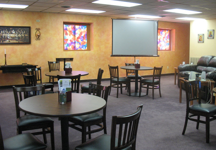 """A Different Christian Voice's """"coffee house sanctuary"""""""